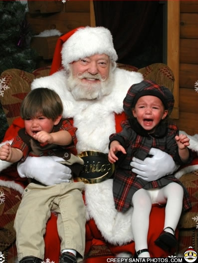 The Creepy Santa thread Crying-twins-creepy-santa