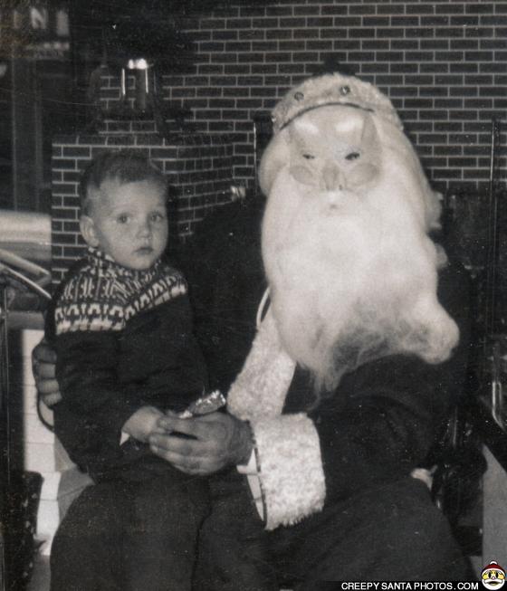 masked santa